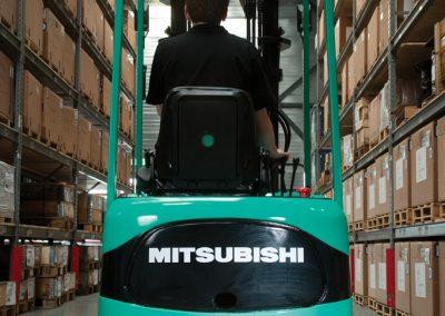 Mitsubishi Serie FB10-15KRT PAC